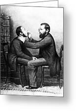 Johann Nepomuk Czermak (1828-1873) Greeting Card