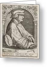 Johann Stoffler (1452 - 1531) German Greeting Card