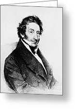 Johann Von Malfatti Greeting Card