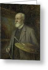Johannes Gijsbert Vogel 1828-1915 Greeting Card