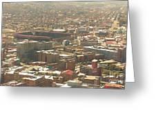 Johannesburg Stadium Greeting Card
