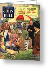 John Bull 1956 1950s Uk Schools Greeting Card by The Advertising Archives