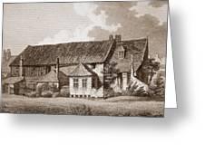 John Bunyans Meeting House, Early 19th Greeting Card