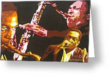 John Coltrane A Love Supreme Greeting Card