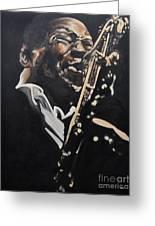 John Coltrane Greeting Card