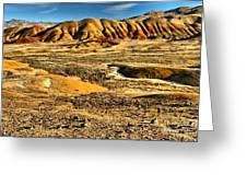 John Day Oregon Landscape Greeting Card