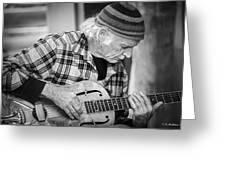 John Decker - Grayscale Greeting Card