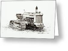 John Deere Crawler Greeting Card