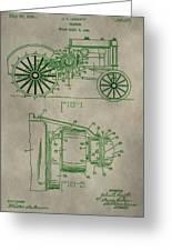 John Deere Patent Greeting Card