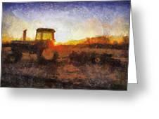 John Deere Photo Art 06 Greeting Card