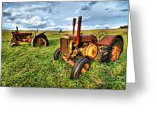 John Deere Tractors I - Blue Ridge Greeting Card