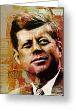 John F. Kennedy Greeting Card