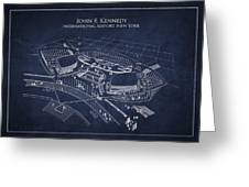 John F Kennedy International Airport Greeting Card