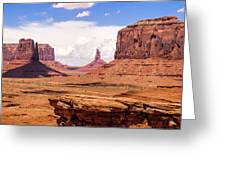 John Ford Point - Monument Valley - Arizona Greeting Card