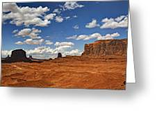 John Ford Point - Monument Valley  Greeting Card