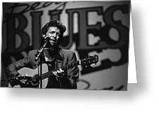 John Hammond Blues Greeting Card