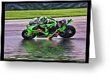 John Hopkins 2005 Motogp Red Bull Suzuki Greeting Card