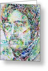 John Lennon Portrait.2 Greeting Card