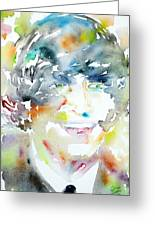 John Lennon Portrait.3 Greeting Card