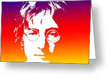 John Lennon The Legend Greeting Card