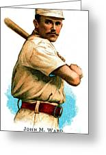 John M Ward Greeting Card by Unknown