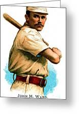 John M Ward Greeting Card by Unknown