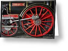 John Molson Steam Train Locomotive Greeting Card