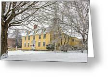 John Paul Jones House Greeting Card