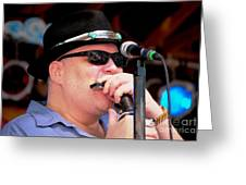 John Popper Greeting Card