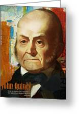 John Quincy Adams Greeting Card