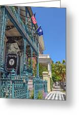 John Rutledge House Greeting Card
