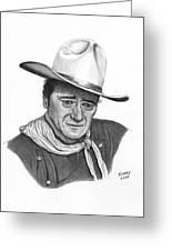 John Wayne #1 Greeting Card