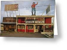 John Wayne Cowboy Museum Tombstone Arizona 2004 Greeting Card