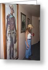 John Wayne Gallery Hondo 1953 Crystal Palace Saloon Helldorado Days Tombstone Arizona 2004 Greeting Card