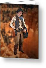John Wayne The Cowboy Greeting Card