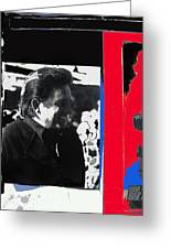 Johnny Cash  Smiling Collage 1971-2008 Greeting Card