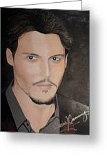 Johnny Depp - The Actor Greeting Card