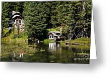 Johnny Sack Cabin Greeting Card