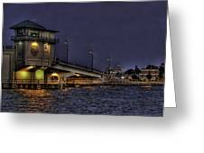 John's Pass Bridge Greeting Card