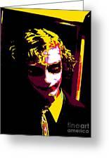 Joker 10 Greeting Card