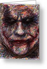 Joker - Face I Greeting Card