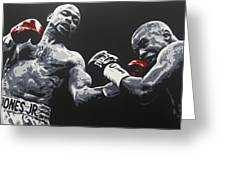 Jones Jr Vs Trinidad Greeting Card