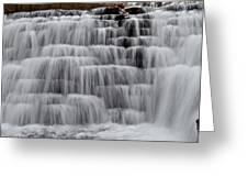 Jones Mill Run Dam Up Close 2 Greeting Card