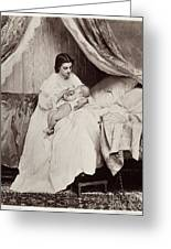 Jonghe: Young Mother Greeting Card