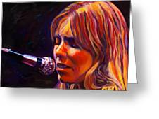 Joni Mitchell..legend Greeting Card