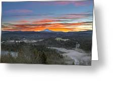 Jonsrud Viewpoint Sunrise Greeting Card
