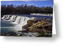 Joplin Grand Falls Overview Greeting Card