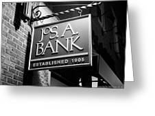 Jos. A. Bank Greeting Card