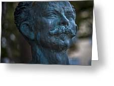 Jose Marti Statue Cadiz Spain Greeting Card