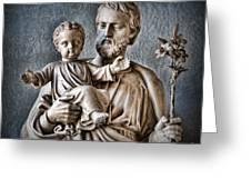 Joseph Of Nazareth Greeting Card by Lee Dos Santos